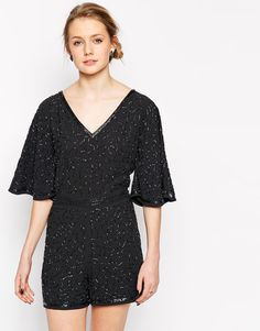 Frock and Frill All Over Beaded Playsuit £55