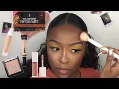 You're going to LOVE this exotic beautiful makeup job from Javinia! The products… – Brille Make-up Make Up Tutorial Contouring, Contouring For Beginners, Easy Makeup Tutorial, Makeup Tutorial For Beginners, Beginner Makeup, Brow Tutorial, Makeup Jobs, Eye Makeup Tips, Eyeshadow Makeup