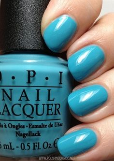 OPI Can't Find My Czechbook... I think it's pretty apparent that I need this color, being Czech and all :)