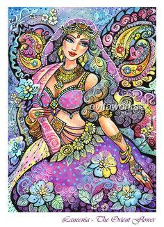 Indian Art Romantic Painting - Bollywood