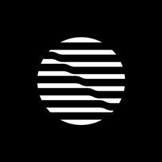 Symmetry Symptom (Nylon de Mexico by Lance Wyman) Op Art, Identity Design, Visual Identity, Logo Montagne, Lance Wyman, Canada Logo, Logo Archive, Restaurant Logo, Logo Shapes