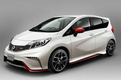 Nissan is transforming the Note into a hot hatch with the new Note Nismo and Nismo S models, but they may not make it to the US. Nissan Nismo, New Nissan, Autos Nissan, Fifa World Cup 2014, Car Websites, Nissan Note, Fuel Efficient Cars, Automobile, Kia Picanto