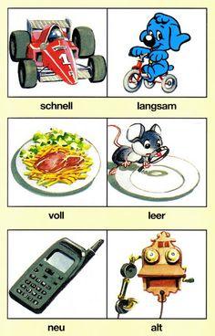 5 : jeu des contraires Speech Therapy Activities, Kindergarten, Spongebob, German, Language, Clip Art, Learning, Kids, Sorting