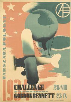 Challenge de tourisme international Gordon Bennett - 1934 - (Tadeuz Gronowski) -