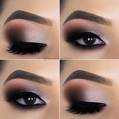 10 Augen Make-up Tipps von Jaqueline Vandoski - EYE Make-up ., makeup tutorial 10 Augen Make-up Tipps von Jaqueline Vandoski - EYE Make-up . Dramatic Eye Makeup, Eye Makeup Art, Natural Eye Makeup, Eye Makeup Tips, Cute Makeup, Makeup For Brown Eyes, Makeup Tools, Eyeshadow Makeup, Beauty Makeup