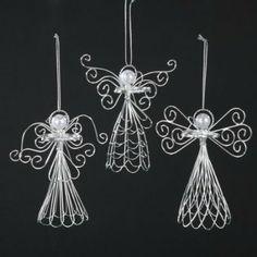 homemade christmas angel ornaments - Google Search