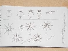 Kai-Zen Doodles: My 5th, 6th & 7th Tangle Patterns: POPPY-POP, ESTREL & FENCéE