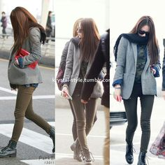 1000 Images About Krystal Jung On Pinterest Krystal Jung F X And Airport Fashion