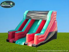 The Bounce Department's Giant Slide with Dual Ladder! Available to hire for any event in Hampshire and Surrounding areas!