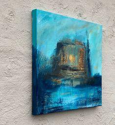 Senhøst originalt akrylmaleri Figurative, Painting, Art, Abstract, Craft Art, Paintings, Kunst, Gcse Art, Draw