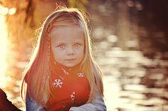 Gorgeous little girl #eyes #sun #lighting #photography #portrait