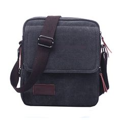 94aae3c2dda Nasis New Retro Men s Canvas Shoulder Bag Messenger Bag Leisure Bag  Cross-body Bag     Be sure to check out this awesome product. Outdoor Bags