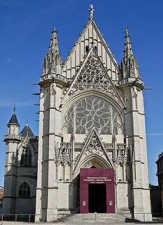 La Sainte-Chapelle,  Château de Vincennes