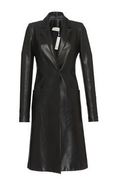 Nappa Leather Coat by MUGLER for Preorder on Moda Operandi
