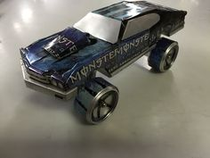 Can car aluminum cars soda & beer inspired by sandy sanders monster energy craft hobby art - YouTube