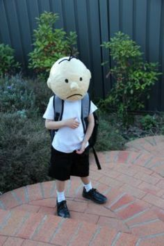 World Book Day Costume Ideas for Kids - Grey from Diary of a Wimpy Kid
