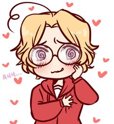 Hetalia ~ Canada <<<< Me when I'm fangirling !