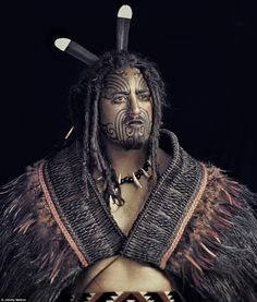 The Maori are the indigenous people of New Zealand and are known as as daring and resourceful adventurers |  British photographer Jimmy Nelson