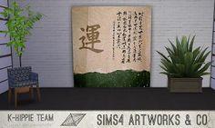 Mod The Sims - 7 Artworks – Asian Serie – volume 1