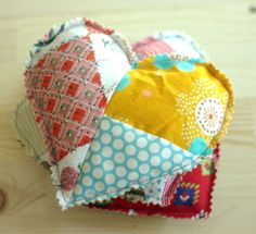 These pretty sachets are filled with the soothing scent of lavender, perfect for stashing in dresser drawers.