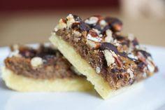 Chocolate Pecan Pie Bars.....don't covet, don't covet, don't covet...