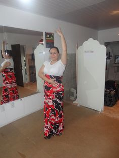Olé!! En classe de Flamenco!