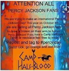 Happy percy Jackson day!!!