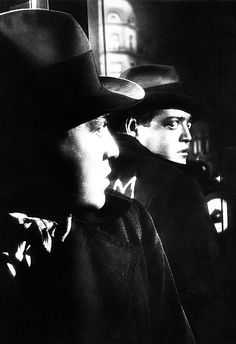 Peter Lorre in M, 1931.