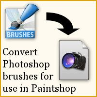 If you have a Paintshop Pro version before X6, you need this to convert any Photoshop brushes to be used in PSP. http://scrapbookcampus.com/tips-tricks/converting-photoshop-brushes-for-paintshop-pro-use/ #paintshoppro