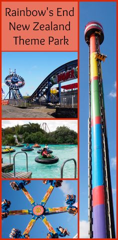 New Zealand theme park Rainbow's End is situated in South Auckland and is an exciting activity for all ages. For more information visit Albom Adventures