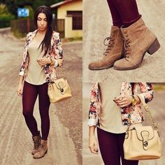 Not leggings but fitted jeans or similar  love the wine color