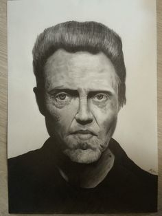 Christopher Walken portrait  #christopherwalken #portrait #drawing #art #artwork