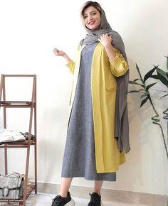 Iranian Women Fashion, Arab Fashion, Muslim Fashion, Suit Fashion, Daily Fashion, Fashion Dresses, Womens Fashion, Street Hijab Fashion, Stylish Clothes For Women