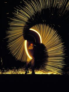 fire poi, steel wool?