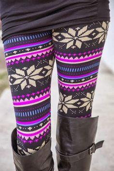Winter Wear, Leggings & Boots