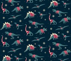 It's hard not to love this for a goofy spin on traditional Christmas fabrics...