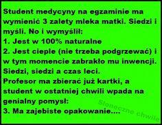 30 najlepszych kawałów na poprawę humoru – Demotywatory.pl Best Memes, Lol, Student, Humor, Funny, Humour, Funny Photos, Funny Parenting, Funny Humor