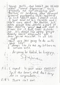 "Morrissey Scans - ""Words by Morrissey"""