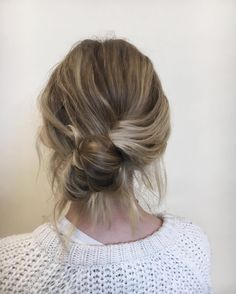 Relax, topknots aren't going anywhere, but if you're looking for an update (that requires no more time or skill), the banana bun is your new best friend. Named for its slightly oblong shape, this French trend has been popping up on our Instagram feeds…and into our lives (where we predict they will stay forever). Here's how to make it work for you. Step 1: Start With Slightly Dirty Hair Don't you love when that's a requirement for a hairstyle? (Or, if you want to try it now, spray on some dry…