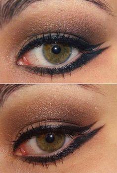 Tutorial: http://www.pausaparafeminices.com/maquiagem/automatic-fine-eyeliner-da-shiseido-e-tutorial-ensinando-o-delineado-double-wings/