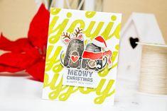 Meowy Christmas   Yana Smakula. My Cardmaking & Scrapbooking