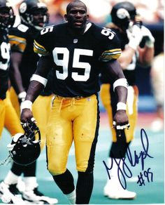 Greg Lloyd Photo: Gift - 2004 Pittsburgh Steelers Line backer. This Photo was uploaded by Steelers Pics, Pittsburgh Steelers Football, Pittsburgh Sports, Sport Football, Football Cards, Charles Haley, Kevin Greene, Greg Lloyd, Steeler Nation