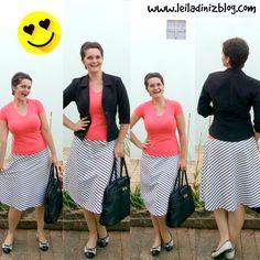 LEILA DINIZ advogada entre outras coisas: ♥ Preciso de sugestões para essa saia midi nova ♥ ...