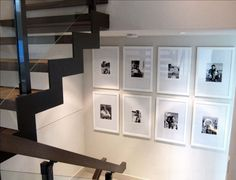 How to Hang a Gallery Wall: Ideas and Tips - http://freshome.com/how-to-hang-a-gallery-wall/