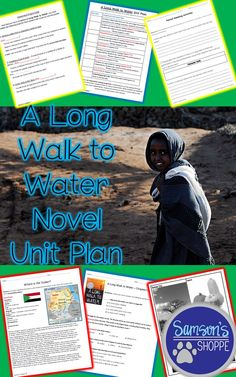 This is a novel unit plan and guided reading packet for the novel, A Long Walk to Water. Included in this plan: → background information → a guided reading packet → Paired text activity using My Great-Grandmother's Gourd → several review materials, including Trashketball Game → assessments → several ideas for after reading activities and projects → answer key