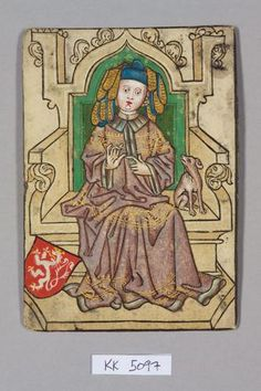 Queen, Court of Bohemia.  Barbara of Celje supported Wladislaw III of Poland to succeed Sigismund and was imprisoned  in Bratislava 4 Dec 4, 1437 until his death 4 days later.  all her property was confiscated and she was exiled from Hungary.  She was given Sandomierz, Poland as a fief, then lived from 1441-51 as Dowager Queen in Mělník in Bohemia. where she plotted against the regime and pursuing her interests in alchemy and the occult (TAROT).  She died of the plague in July 1451.