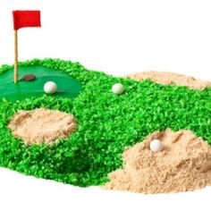 How to make a golf birthday cake with vanilla wafers - parenting.com