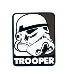 #1138 Star Wars Stormtrooper Pop Art , Height 8 cm, decal sticker - DecalStar.com