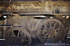 Train wheels by Dirk Ercken, via Dreamstime