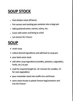 Soup Stock Soup